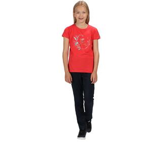 Regatta Bosley II Camiseta Niñas, coral blush